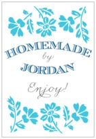 Garden Romance tall rectangle labels