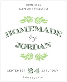 Garden Romance large labels