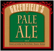 Greenfield beer labels