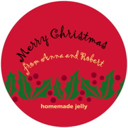 Holly Bright large canning jar toppers