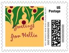 Holly Bright small postage stamps
