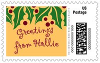 Holly Bright large postage stamps