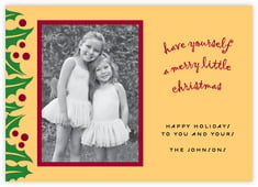 Holly Bright photo cards - horizontal