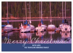 Faraway Holiday photo cards - horizontal