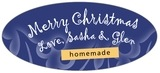 Holly Glow oval labels