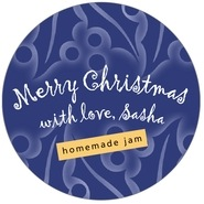 Holly Glow large circle labels