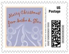 Holly Glow small postage stamps