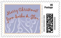 Holly Glow large postage stamps