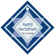Shalom diamond hang tags