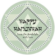 Shalom large circle labels