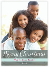 Holiday Letter photo cards - vertical