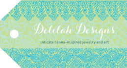 Henna luggage tags