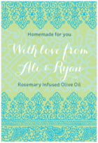 Henna tall rectangle labels