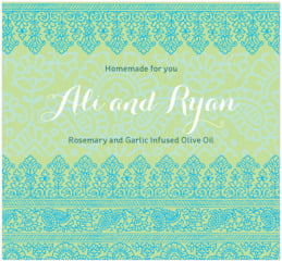 Henna large rectangle labels