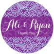 Henna small round labels