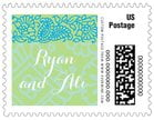 Henna small postage stamps