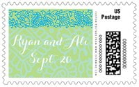 Henna large postage stamps