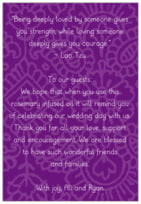 Henna text labels