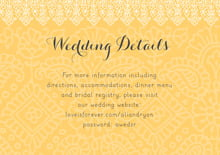 custom enclosure cards - sunburst - henna (set of 10)