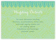 Henna enclosure cards