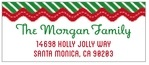 Holiday Express designer address labels