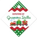 Holiday Express small diamond hang tags