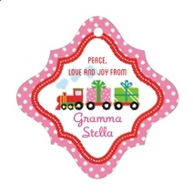 Holiday Express fancy diamond hang tags