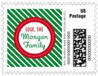 Holiday Express small postage stamps