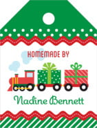 Holiday Express small luggage tags