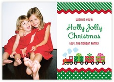 Holiday Express photo cards - horizontal