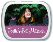 Brush Edge Mint Tin In Radiant Orchid