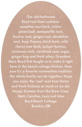 Brush Edge oval text labels