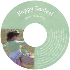 Brush Edge Cd Label In Mint