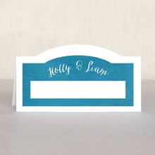 Brush Edge place cards