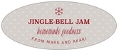 Iconic Christmas oval labels