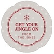 Iconic Christmas petal labels