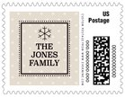 Iconic Christmas small postage stamps