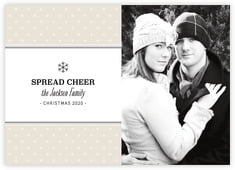 Iconic Christmas photo cards - horizontal