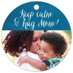 Simple Edge circle hang tags