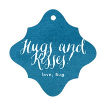 Simple Edge fancy diamond hang tags