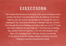 custom enclosure cards - deep red - simple edge (set of 10)