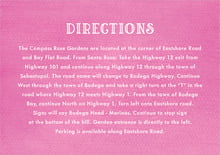 custom enclosure cards - bright pink - simple edge (set of 10)