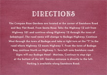 custom enclosure cards - burgundy - simple edge (set of 10)