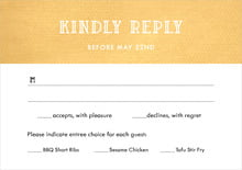 custom response cards - sunburst - simple edge (set of 10)