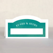 Simple Edge place cards