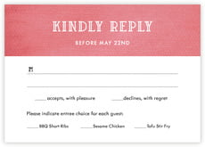 Simple Edge response cards