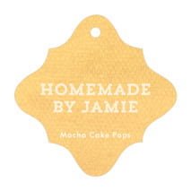 Film Edge fancy diamond hang tags