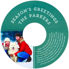 Film Edge holiday CD/DVD labels