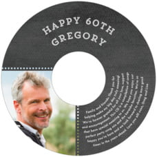 Film Edge Cd Label In Tuxedo