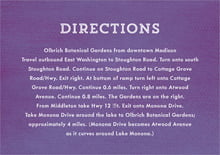 custom enclosure cards - plum - film edge (set of 10)